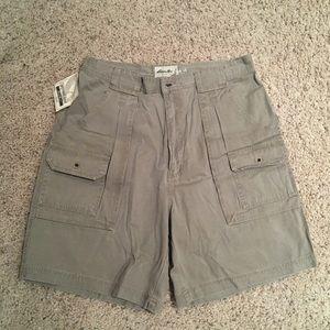 NWT Eddie Bauer shorts size 36 khaki